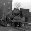 46255 City of Hereford on the turntable in April 1956.