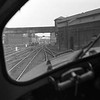 Something of an interesting curiosity?  This shot was taken from the cab of the Class 40 when we were offered a short spin through Camden shed on this novelty of a Diesel Electric locomotive.