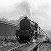Jubilee Class 45670 Howard of Effingham nears the top of Camden Bank on 19 August 1956.  This picture was taken on the Ross Ensign camera.