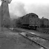 A general view of the depot in April 1955 taken from the Euston side and featuring the tender (!) of 46255 City of Hereford.  I have not cropped away the extensive foreground in this shot because it shows so well the mess and abandoned tools typical of the ash plant area at Camden.