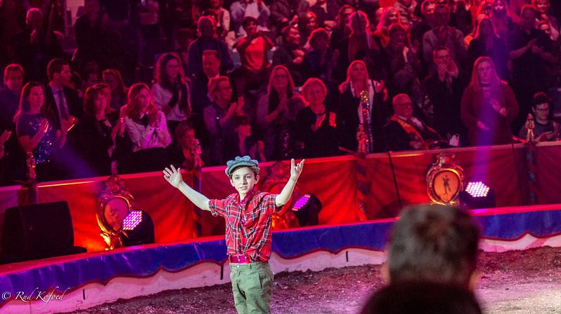 Francy...publikum og elefanternes helt