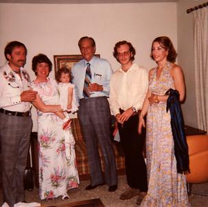 Bruce, Mom, Laura, Gpa Brown, June 1977