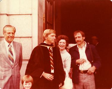 Dad's PhD Graduation June 5, 1977