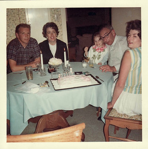 Dad, Mom, Lisa, Bill, Bette