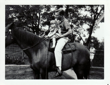 Dad, Lisa August 1965