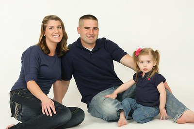 family and child portraits