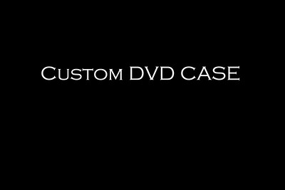 Custom DVD Case