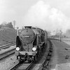 30865 Sir John Hawkins seen from the steps of Southcote Junction signal box c.1955.