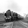 30865 Sir John Hawkins passing Southcote Junction, 18 April 1953.
