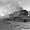 34043 Combe Martin with the 10.25 ex-York bound for Bournemouth at Southcote Junction on 30 March 1953.