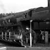 Modified West Country class 34017 Ilfracombe on the turntable at Bournemouth MPD on 29 June 1963.