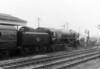 92220 Evening Star at Princess Risborough with the Six Counties rail tour 3rd April 1960