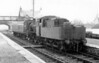 78048 with a single coach at Kelso 28th March 1964