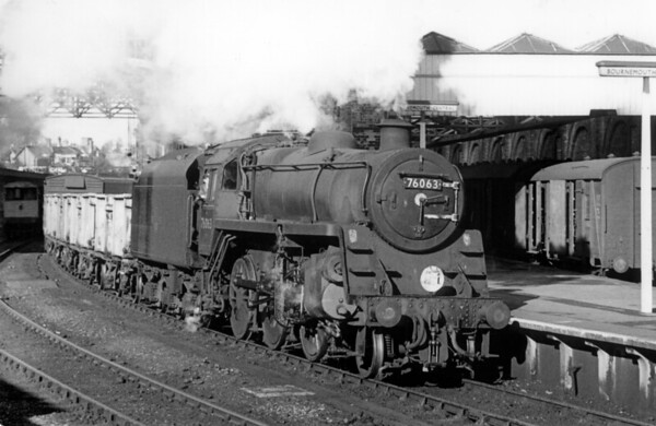 76063 Bournemouth Central 22nd October 1963