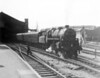 76087 leaving Bristol Temple meads with the 3 45 service to Gloucester 31st August 1964