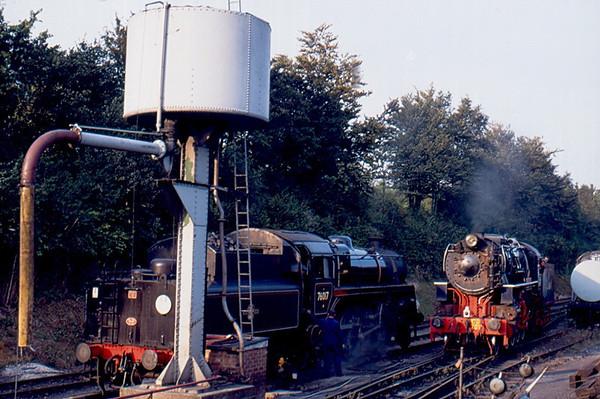 76017 & WD701 Ropley Shed Mid Hants Railway