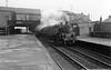 80005 Shields Road station Glasgow 18th February 1961