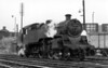 80082 with a  Peterborough East to Leicester light engine working 1957