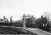 80144 a Eastbourne -Tunbridge Wells west train at Eridge.