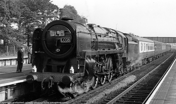 70004 William Shakespeare Prestatyn 24th Septrember 1966 L C G B  Conway Valley Railtour