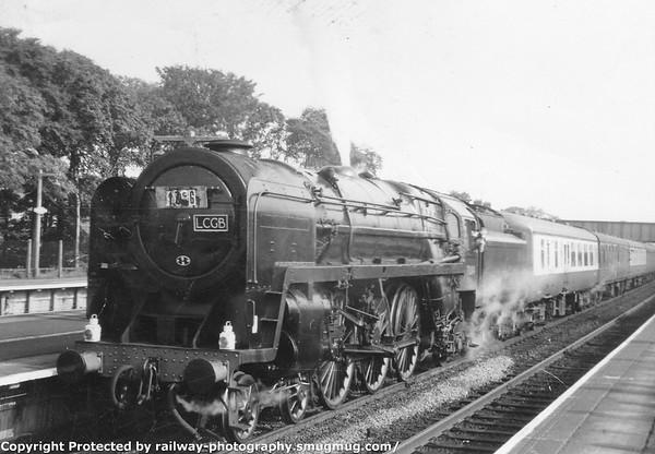 70004 William Shakespeare Prestatyn LCGB Conway Valley Railtour 24-9-1966 (1)