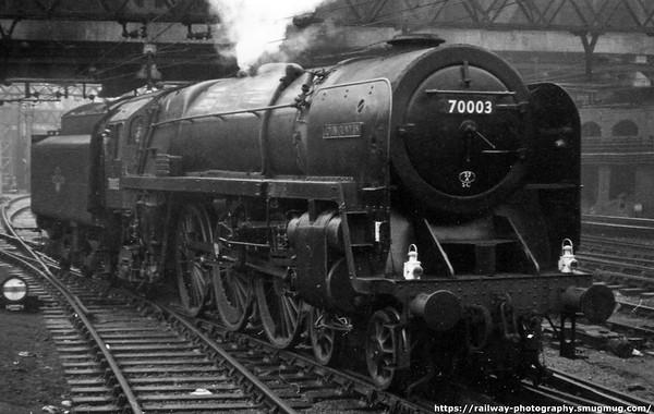 70003 John Bunyan Liverpool St 24th December 1960