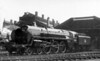70008 Black Prince brand new at Crewe 28th April 1951 on the day of its release to traffic