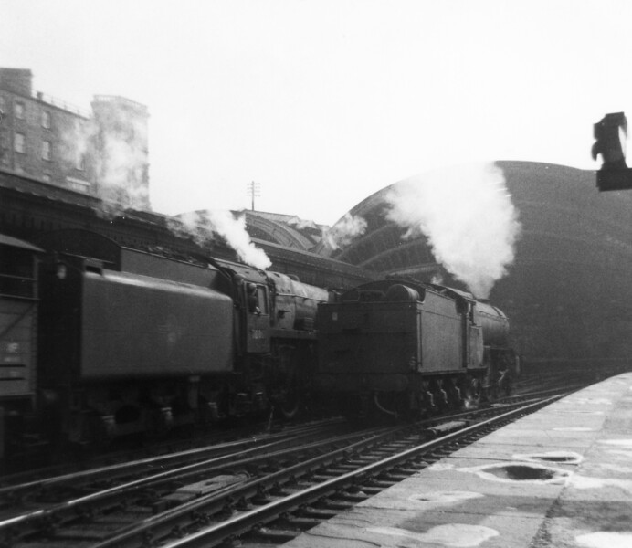 70008 Black Prince York 5th October 1961