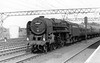 70011 Hotspur up Norwich express passing Stratford 5th September 1959