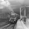 70009 Alfred the Great with the Royal Train for the Royal Family Christmas holidays at Sandringham. 22 December 1960,Liverpool St