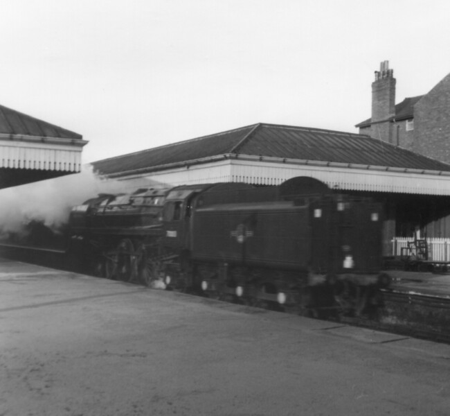 70013 Oliver Cromwell St Annes 29th December 1967
