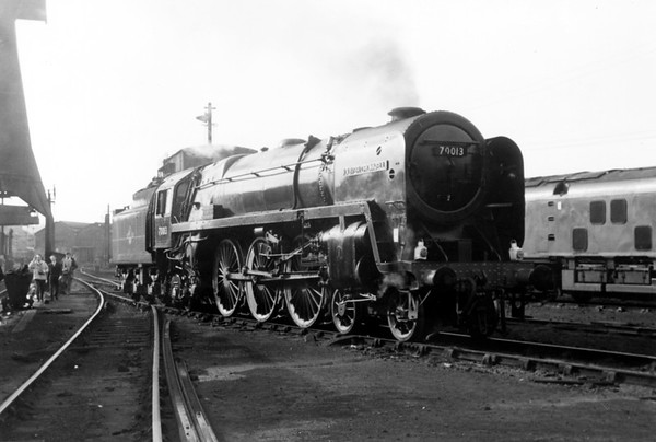 70013 Oliver Cromwell unknown location 7th October 1967