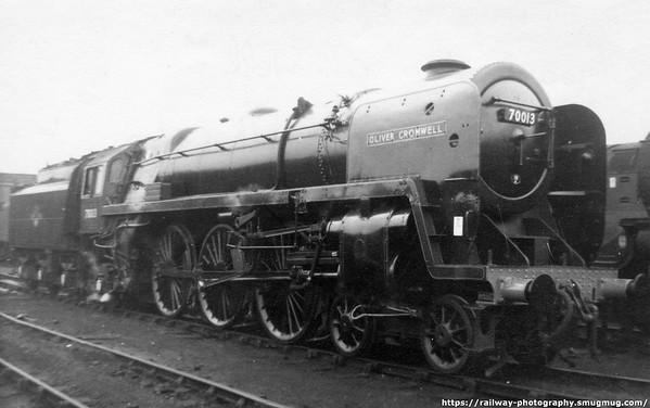 70013 Oliver Cromwell Lostock Hall Preston 27th July 1968