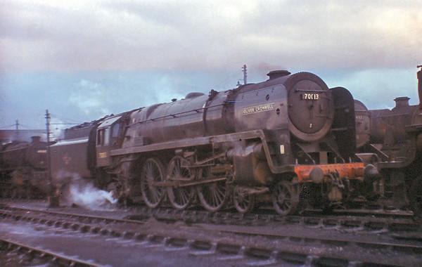 70013 Oliver Cromwell Lostock Hall 17/10/67 (Tony Gillett)