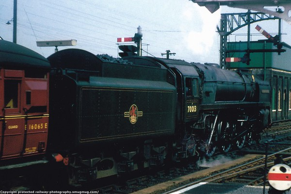 70013 Oliver Cromwell Witham 5th September 1958