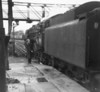70015 Apollo at Aylesbury with the 12 25pm Marylebone to Nottingham Victoria service 10th February 1962