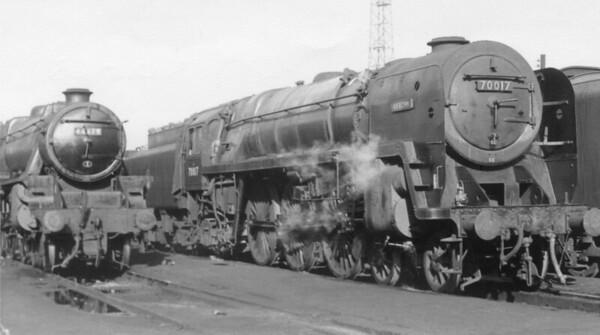 70017 Arrow  Crewe North 13th October 1963