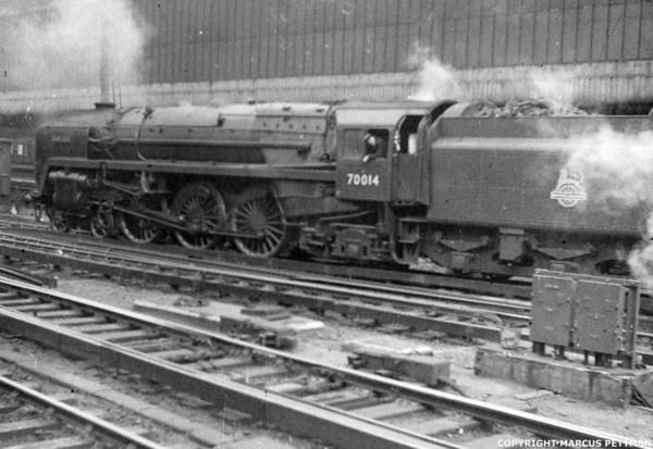 70014 Iron Duke Victoria Station 1957