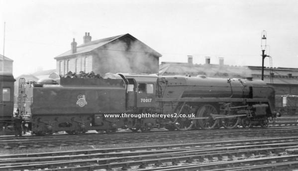 70017 Arrow Crewe 1-9-1956