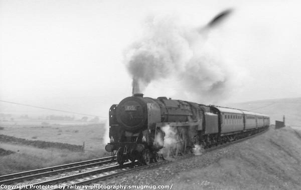70016 Ariel Greenholme with a relief Royal Scot 29-7-1967