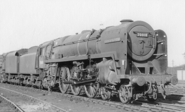 70018 Flying Dutchman Crewe North 13th October 1963
