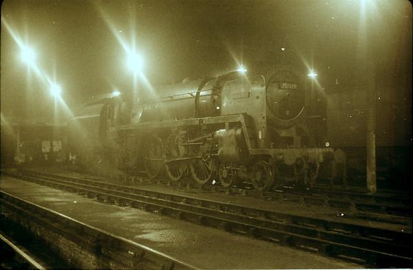 70019 Lightning Lostock Hall shed 4th April 1963 (Tony Gillett)
