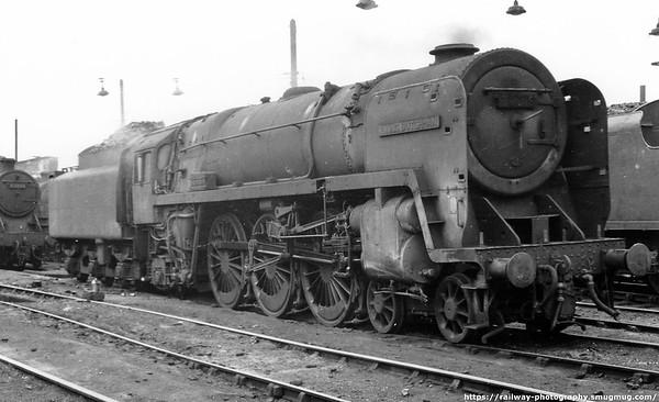 70018 Flying Dutchman Willesden c1964