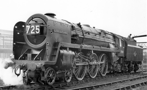 70018 Flying Dutchman Cardiff Canton shed September 1959