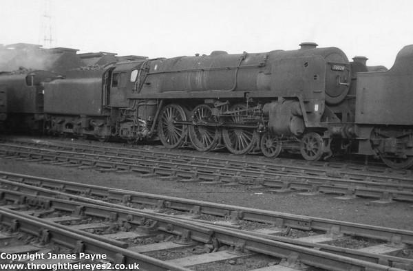 70024 Vulcan Crewe Works 1966