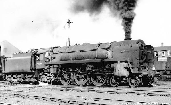 70022 Tornado Carlisle Kingmoor 18th September 1961