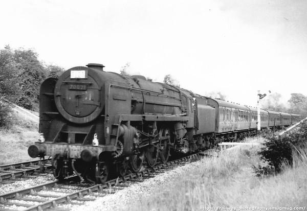 70021 Morning Star Roe Green 11th September 1961