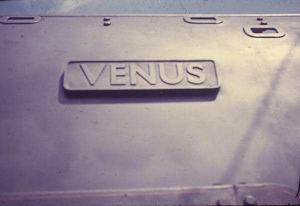 70023 Venus nameplate