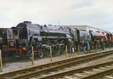 BR Standard Class 8 71000 Duke of Gloucester