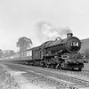 The 3.30 ex Paddington headed by 6002 King William IV approaches Southcote Junction, Reading on 9 May 1953.